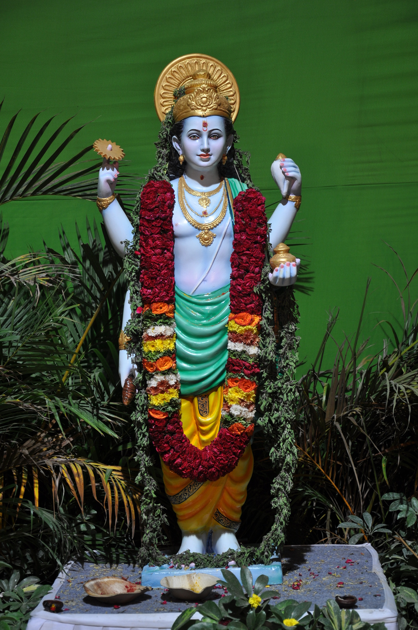 Dhanvantari at Ayurveda expo