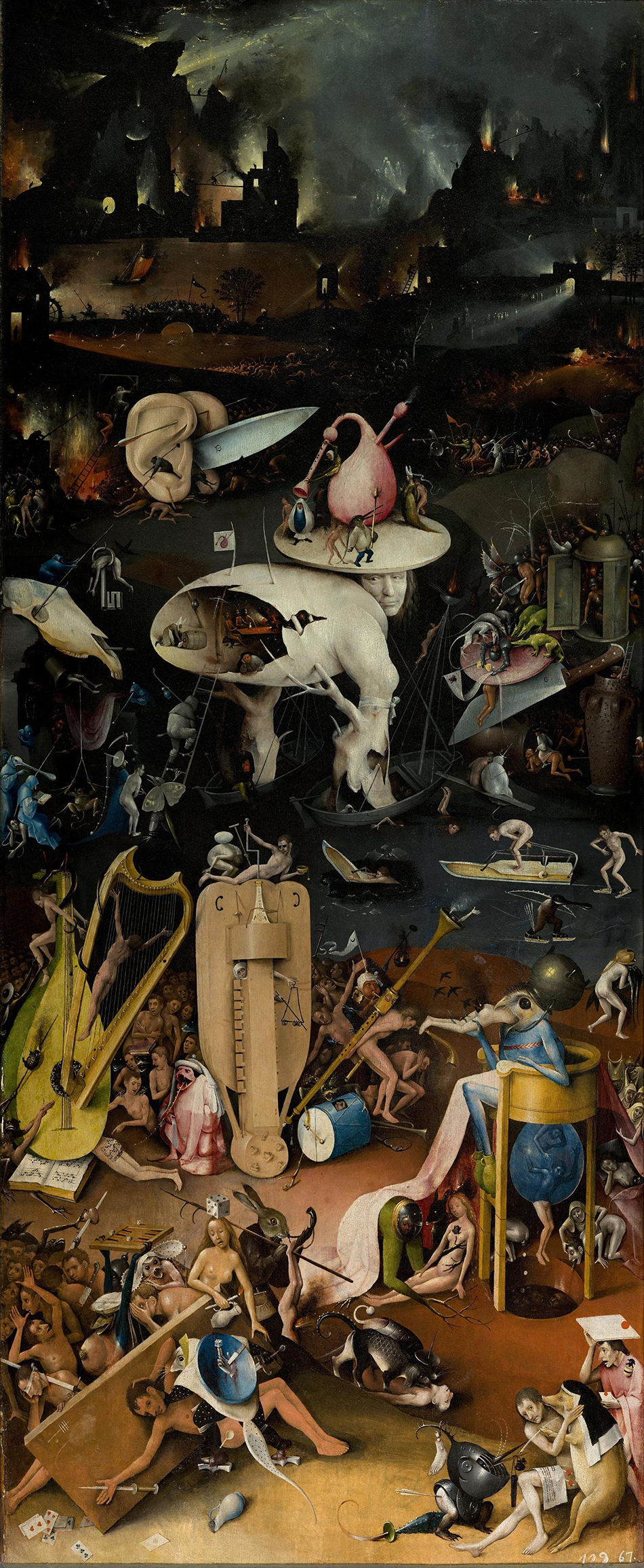 Hieronymus Bosch The Garden of Earthly Delights Hell